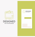 business logo for cash finance money personal vector image vector image