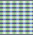 gingham tartan seamless pattern chequered vector image