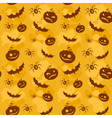 Halloween seamless background big vector image