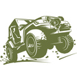 Jeep Wrangler vector image