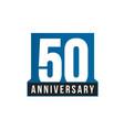 50th anniversary icon birthday logo