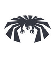 anger bird force eagle symbol freedom black and vector image vector image