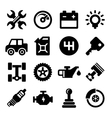 Auto Repair Service Icons vector image