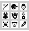 Baseball vector image vector image