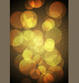 bokeh lights background vector image vector image