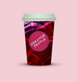 coffee cup creative people coffee vector image