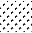 Dog head pattern simple style vector image vector image