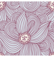 Doodle flower seamless pattern Floral textile vector image vector image