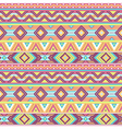 Ethnic pattern tropic pink vector image