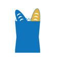 grocey bag icon image vector image vector image