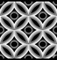 modern geometric 3d greek key meanders seamless vector image