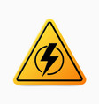 power outage symbol without electricity concept vector image