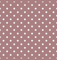 tile pattern with white polka dots on pastel vector image vector image