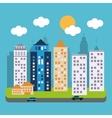 Urban life design vector image vector image