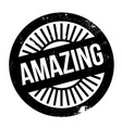 amazing rubber stamp vector image vector image