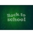 Back to school2 vector image
