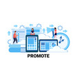 business people successful teamwork strategy vector image