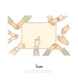 deaf mute people communication hands showing vector image
