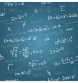 mathematical formulas seamless pattern vector image