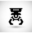 Robotic claw icon vector image vector image