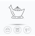 Washing machine multicooker and hair dryer icons vector image vector image