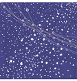 snow falling vector image