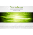 Bright green tech background vector image vector image