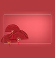 chinese new year background with your copy space vector image vector image