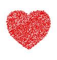 crayon valentine 22 vector image vector image