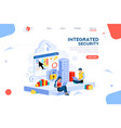 innovation concept isometric vector image vector image