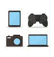 videogames and electronic devices vector image