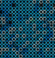 abstract grunge blue seamless vector image vector image