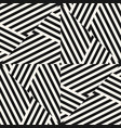 black and white geometric seamless pattern with vector image