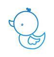 cute rubber duck toy bathroom kid vector image vector image
