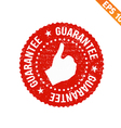 Grunge highest quality guarantee rubber stamp - vector image vector image