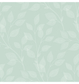 leaves needlework green vector image vector image