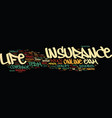 term life insurance no exam is it right for you vector image vector image