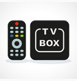 tv box vector image vector image