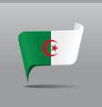 algerian flag map pointer layout