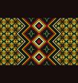 kente cloth african textile ethnic seamless vector image vector image