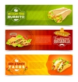 Mexican Food Banner Set