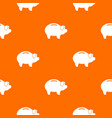 piggy pattern seamless vector image vector image