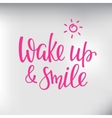 Quotes motivation for life and happiness morning vector image vector image