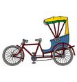 the classic rickshaw