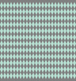 tile pattern or mint green and grey wallpaper vector image vector image