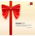 Envelope tied with bow vector image