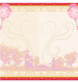 Asian Landscape and Chinese Lanterns vector image vector image