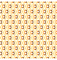 Beige orange diagonal dumbbells abstract seamless vector image