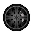 car metal rim icon vector image vector image
