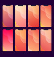collection abstract wallpapers and backgrounds vector image vector image